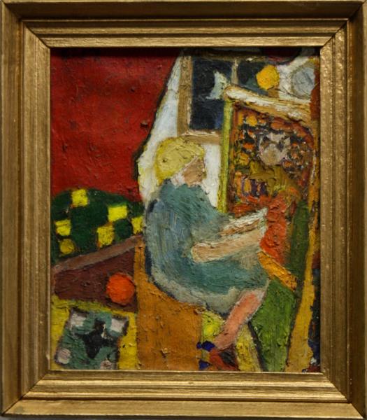 URSZINYI Mária, Pictoriță în atelier 4