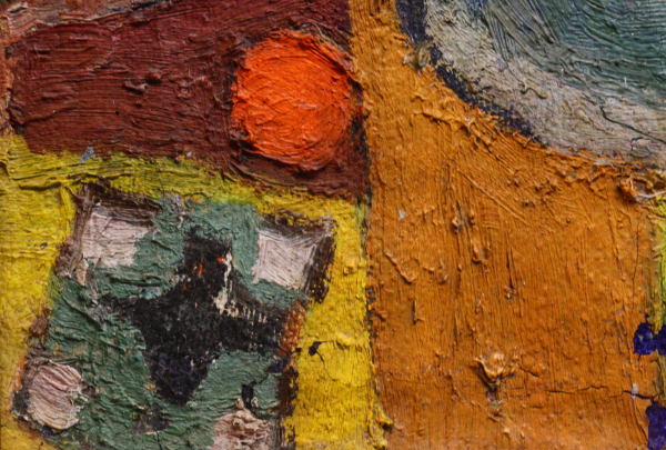 URSZINYI Mária, Pictoriță în atelier 1