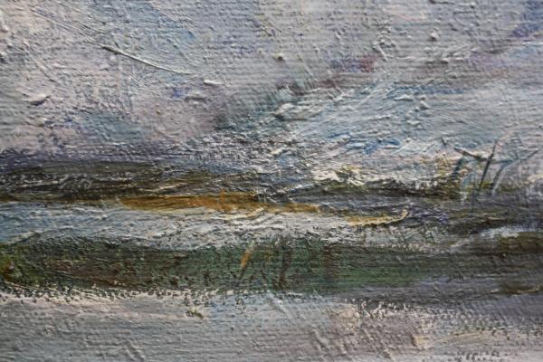 BARABÁS István, Peisaj de iarnă cu copaci 1