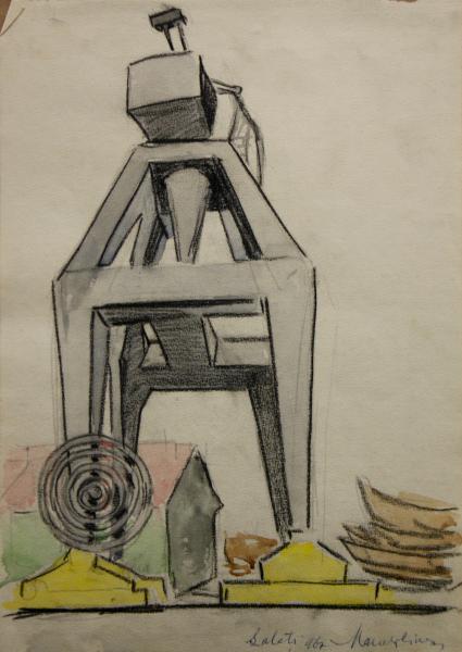 Marcel OLINESCU, Galati grafica, 1967 0