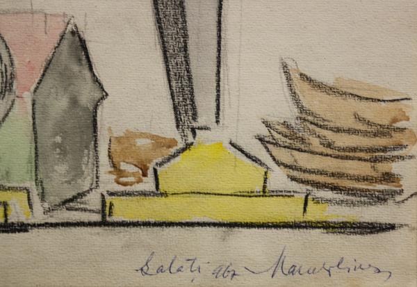 Marcel OLINESCU, Galati grafica, 1967 2