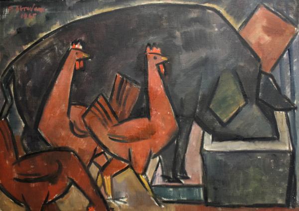 Petre ABRUDAN, Nesătulul, 1965 0