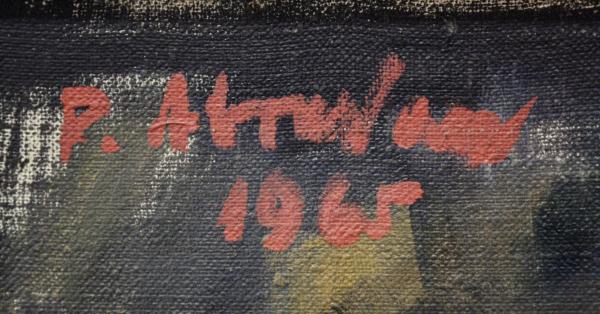 Petre ABRUDAN, Nesătulul, 1965 [3]