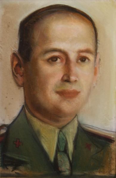 Corneliu BABA, Portret  de medic militar, 1940 0