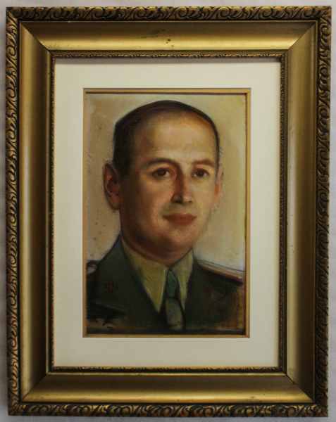 Corneliu BABA, Portret  de medic militar, 1940 4