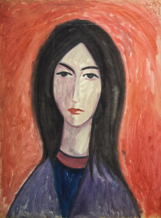 BARTOVICS  József, Portet de femeie, 1968 0
