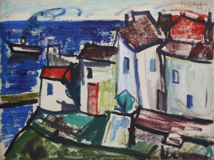 BARTOVICS József, Case în port, 1967 0