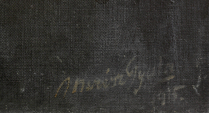 MERÉSZ Gyula, Portrete de burghezi transilvăneni, 1915 - 1917 [4]