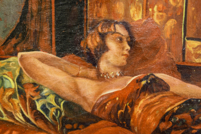 Unidentified AUTHOR, Woman in the Alcove [1]