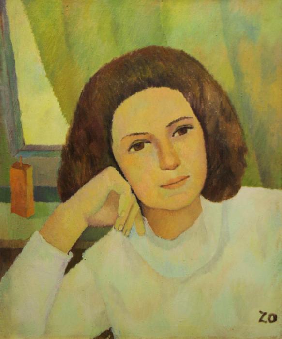 Katy ZOLTÁN, Portret de femeie liniștită 0