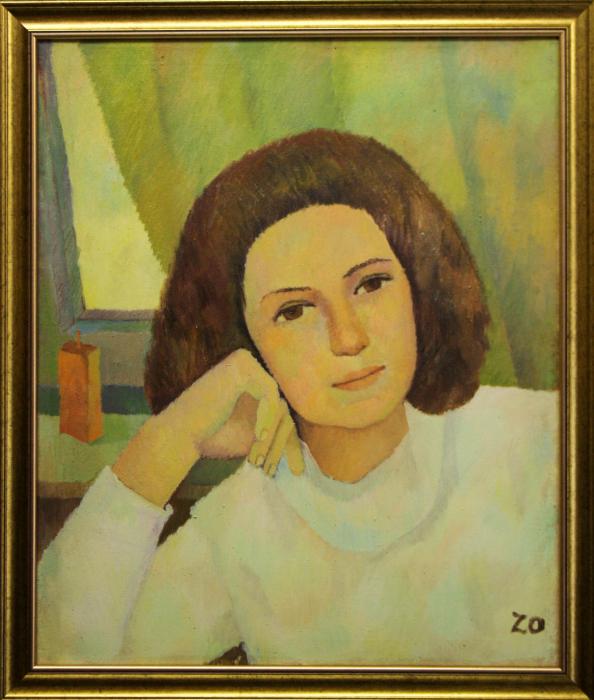 Katy ZOLTÁN, Portret de femeie liniștită 5