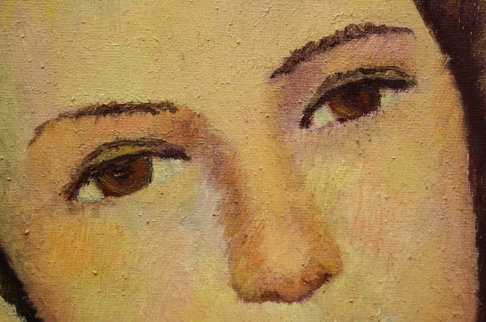 Katy ZOLTÁN, Portret de femeie liniștită 1
