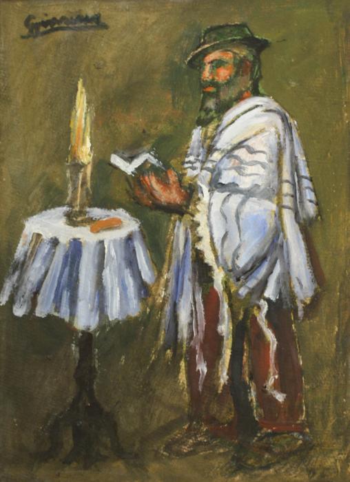 GYIMESI (GYIMESSY) KOVÁCS Gábor, Evreu rugându-se [0]