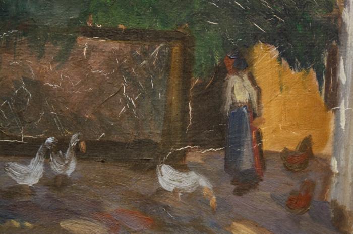 ELEFÁNT Jenő, Curte la țară, 1925 [1]
