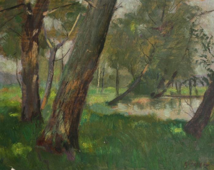 KŐRÖSY Lajos, Pădure verde [0]