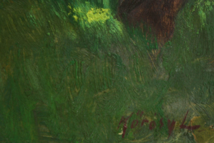 KŐRÖSY Lajos, Pădure verde [2]