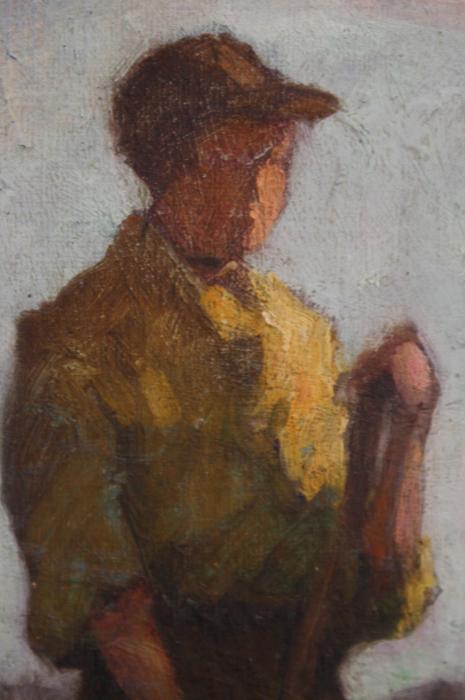 PATAKY  Sándor, Țărani muncind [1]