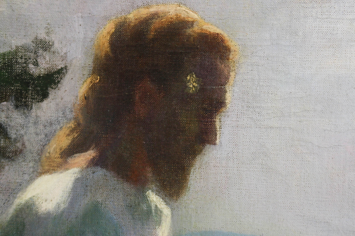 K.CSIKOS Antónia., Isus în grădina Ghetsimani, 1933 [1]