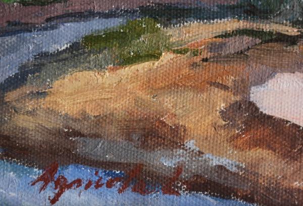 AGRICOLA Lidia, Peisaj pe malul Sősarului 3