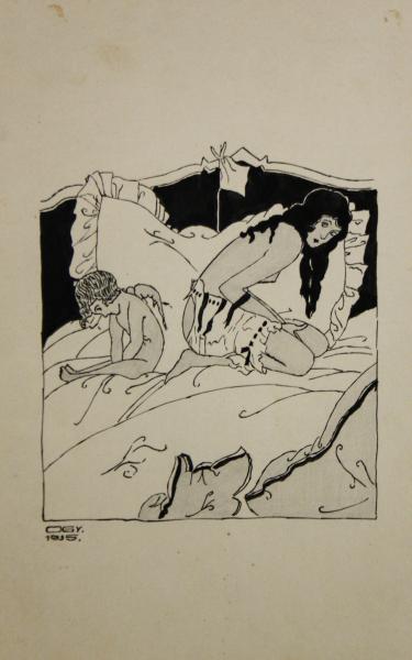 ORIOLD György, Venus și Cupidon, 1935 0