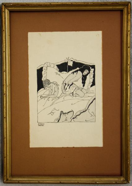 ORIOLD György, Venus și Cupidon, 1935 4