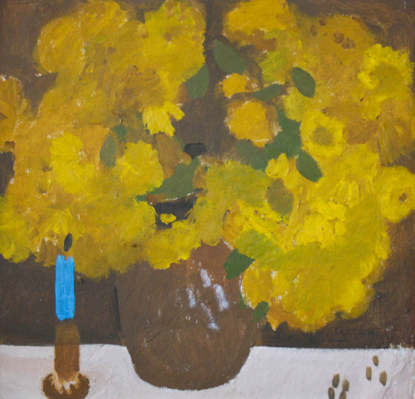 Ion POPESCU NEGRENI, Natură statică cu flori 0