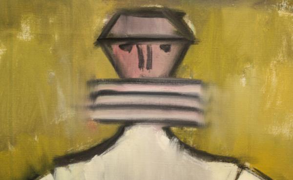 Petre ABRUDAN, Personaj în crinolină galbenă, 1968 1