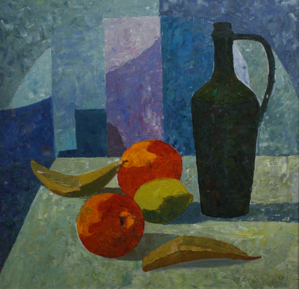 BARTOVICS József,  Still Life with Carafe and Fruit 0