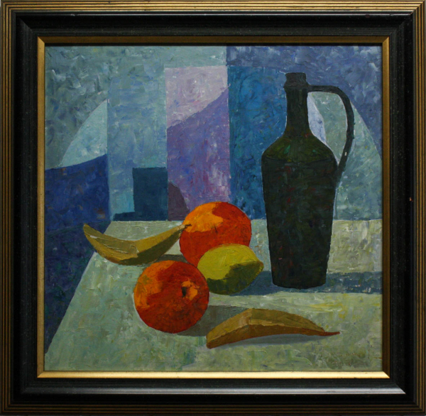 BARTOVICS József,  Still Life with Carafe and Fruit 4