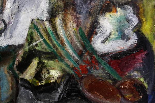 Aurel COJAN, Natură statică cu lampă 1