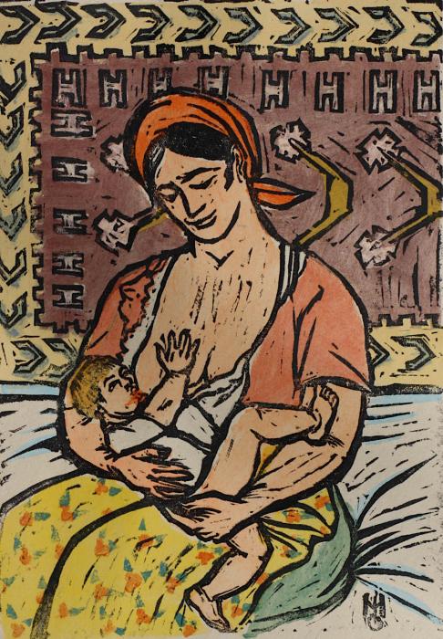 Marcel OLINESCU, Maternitate, 1954 [0]
