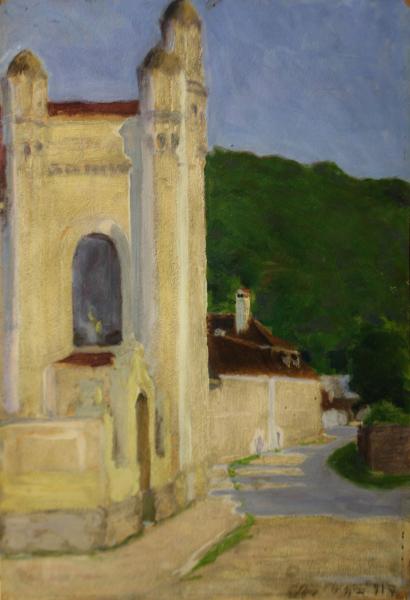 TAGYOSI RÁTZ Péter, Sinagogă în Banska Bystrica, 1917 0