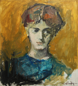 GYŐRFFY Éva, Portret de fată0
