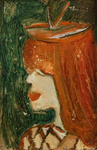 URSZINYI Mária, Autoportret0