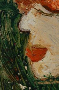 URSZINYI Mária, Autoportret1
