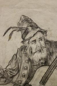 AUTOR transilvănean neidentificat, Bătrân muzician1
