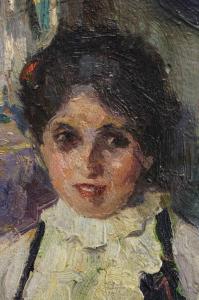 Pericle CAPIDAN, Needlewoman [2]