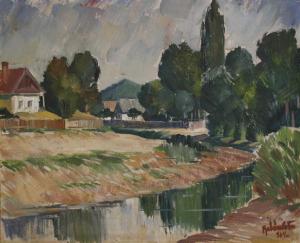 BALÁSZ Péter, Peisaj, 1960 [0]