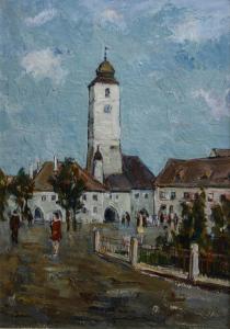 Ștefan BOCA, Turnul Sfatului din Sibiu0