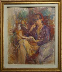 Ion MUSCELEANU, Lectură, 1972 [4]