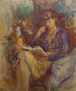 Ion MUSCELEANU, Lectură, 1972 [0]