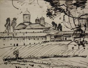Ștefan POPESCU, Mănăstirea Cernica0