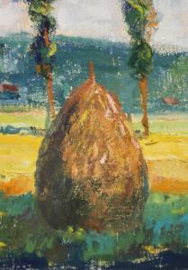 DUDÁS Gyula, Peisaj maramureșan, 19871