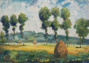 DUDÁS Gyula, Peisaj maramureșan, 19870