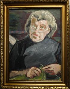 BALLA József, At  Painter KRIZSÁNNÉ CSIKOS Antónia`s  Home [3]
