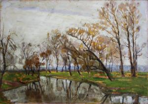 Nicolae IRIMIE, Peisaj de toamnă [1]