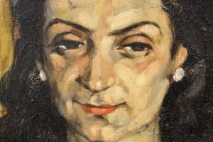 HAJÓS Imre László, Portretul soției1