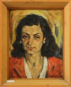HAJÓS Imre László, Portretul soției3