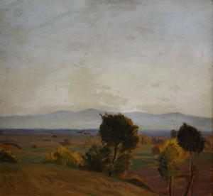 MACALIK Alfréd, Peisaj laTinca0