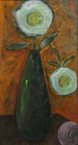Egon Marc LÖVITH, Natură statică cu flori0